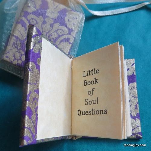 Miniature Books - Ingrid Goff Maidoff - Tending Joy, Poetry
